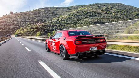 Dodge Challenger Hellcat. Músculo europeo de Prior Design