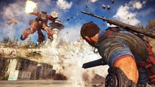 Just Cause 3 Mech Land Assault 3