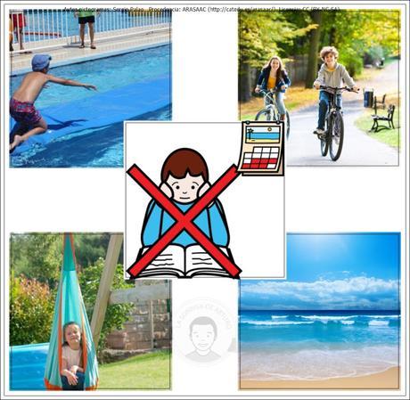 Cómo anticipar correctamente el fin del curso escolar y el inicio de las vacaciones.