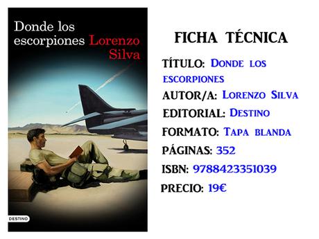 Reseña: Donde los escorpiones, de Lorenzo Silva