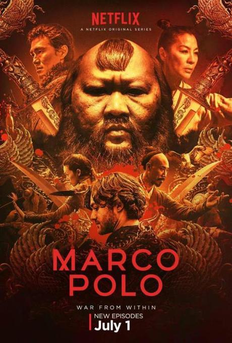Tráiler y de la segunda temporada de Marco Polo