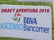 Movimientos Draft Ascenso Apertura 2016