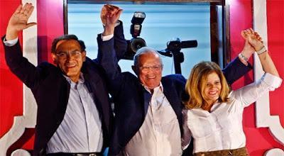 ES HORA DE TRABAJAR JUNTOS POR EL FUTURO DEL PAÍS… dice – Presidente electo del Perú - Pablo Kuczynski