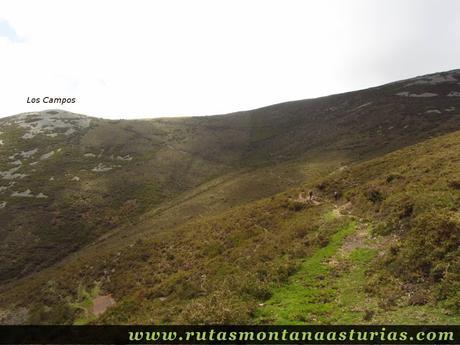 Sendero desde Braña Braniecha, en Allande