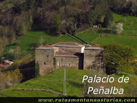 Palacio de Peñalba en Allande