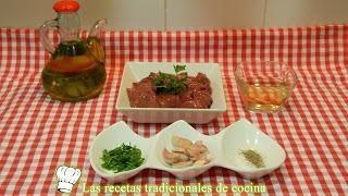 receta de higaditos de conejo al ajillo
