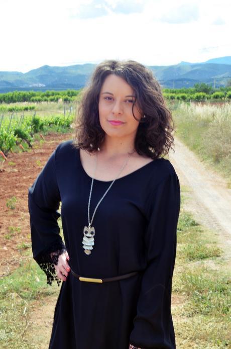 Vestido negro con crochet_outfit_look_mivestidoazul (9)