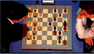 "Magnus Carlsen en el París Grand Chess Tour (8ª ronda a 25' + 10"")"