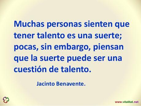 El Talento no es una suerte