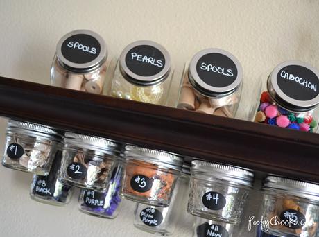 DIY - 3 Maneras increíblemente fáciles de organizar tus materiales para las manualidades