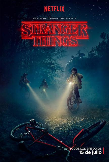 TRAILER Y PÓSTER OFICIAL DEL THRILLER 'STRANGER THINGS'