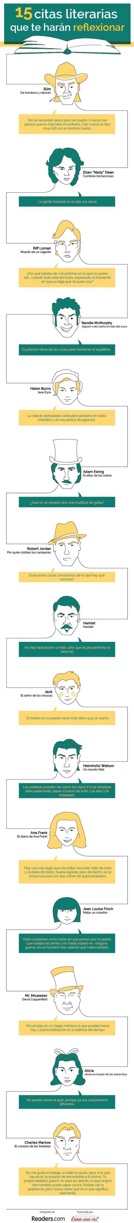 infografia citas litearias