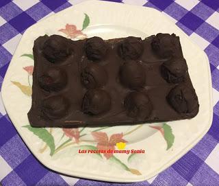 TABLETA DE CHOCOLATE CON FRESAS A MI ESTILO PARA MI YERNO