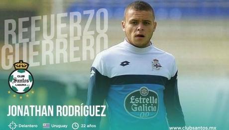 Jonathan Rodríguez, nuevo refuerzo de Santos