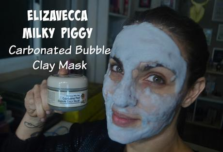 Testando la Mascara Carbonated Bubble clay de Elizavecca milky piggy!