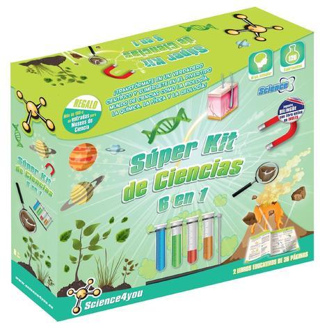 Super kit de Ciencias 6 en 1