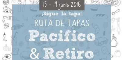 RUTAS DE TAPAS, PACIFICO&RETIRO