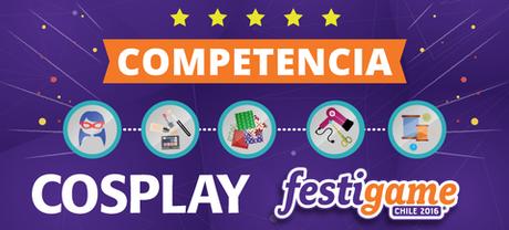 @festigame: #FestiGame anuncia competencia #Cosplay2016