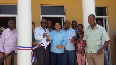 Inaugurada en Tamayo remodelación Casa de la Cultura.