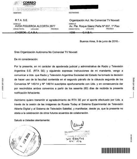 #Argentina El dictador Macri suspende la televisora RT Rusia Today