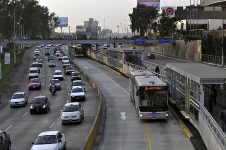 Medios de transporte en Perú