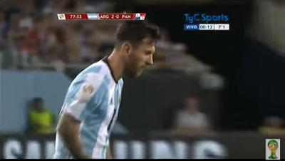Golazo de tiro libre Messi