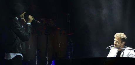 [NOTA] El bahiense Abel Pintos cantó con Pablo Alborán en el Gran Rex