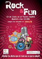 Rock and Fun en el Teatro SanPol