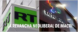 ¿Quien tendrá las señales de teleSUR y RT en Argentina?
