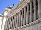 Vittoriano, Duce, antigua Roma nuestros pies...