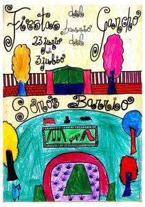 Cartel ganador Fiestas Populares del Gancho 2016