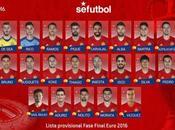 EURO2016 Redes sociales selección española fútbol