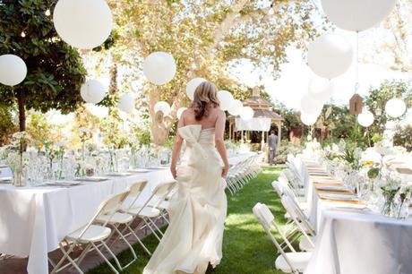 decoración boda: formas divertidas de incorporar globos en tu gran