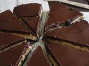 Tarta chocolate mantequilla cacahuete (sin horno)
