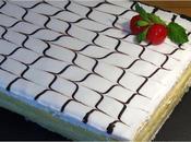 Tarta pastel Napoleón