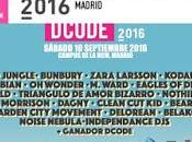 DCode 2016: Bunbury, Mark Ronson, Love Lesbian, Kodaline, Jungle, Zara Larsson, Jimmy World...