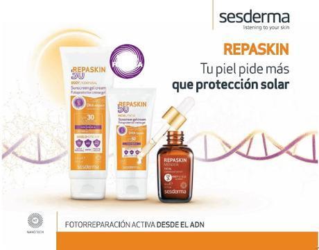 """""""Repaskin Tacto Seda SPF30"""" – más que un protector solar"""