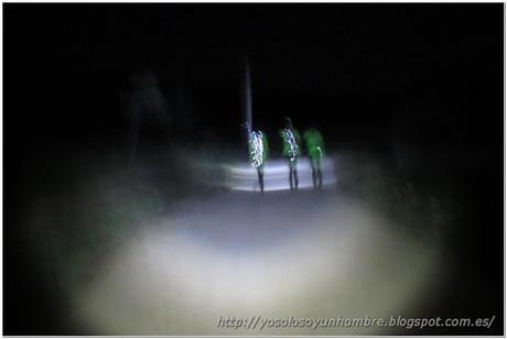 andando en la oscuridad
