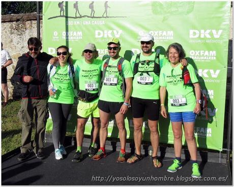 Oxfam Intermon Trailwalker 100 km. Madrid 2016. La tercera