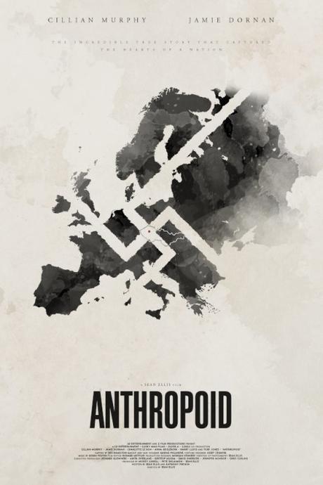 Tráiler y afiches de Anthropoid, thriller bélico con Jamie Dornan y Cillian Murphy