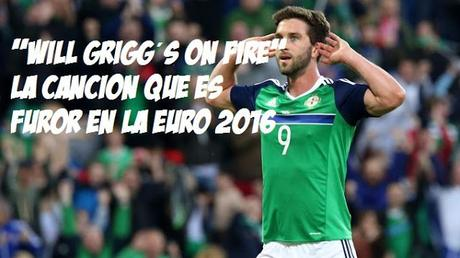 Will Grigg on Fire
