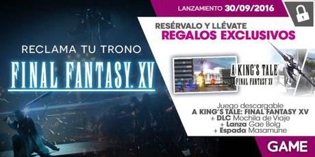 A King's Tale Final Fantasy XV GAME