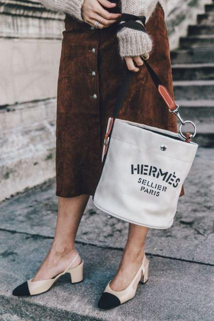 bucket bag Hermès