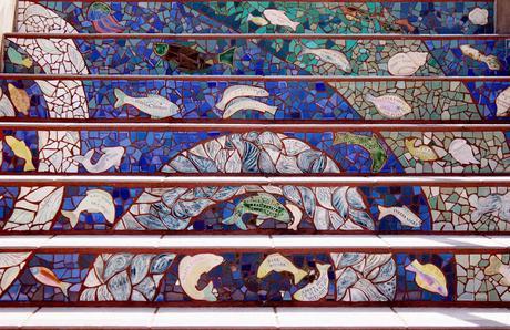 Escaleras al cielo... The 16th Avenue Tiled Steps Project