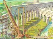 Polyspastos, grúas Roma