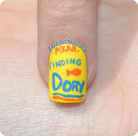 Nail Art Finding Dory - Buscando a Dory