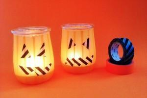 DIY: cómo hacer un portavelas para halloween