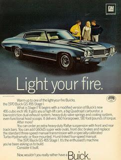 The Doors: Come on Buick, light my fire