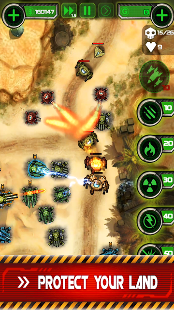 Tower Defense: Civil War v1.02 APK MOD Unlimited Money
