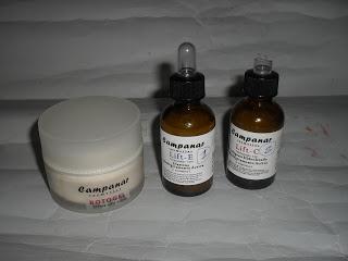 Botogel y dos serums de Farmacia del Campanar (opinión)